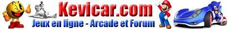 Logo du site de jeux en ligne Kevicar.com